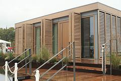 Passivhaus aus Holz.