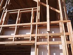 Bauweise eines Pssivhauses.
