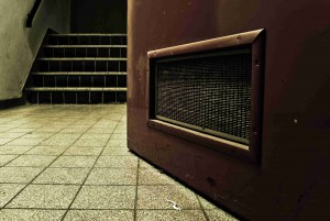 Radon kann vor allem im Keller vorkommen.