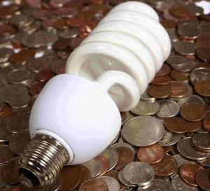Energiesparlampen sind ein Weg, um Energie zu sparen.
