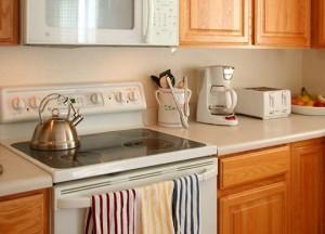 Eine neue Küche steigert die Wohnqualität.