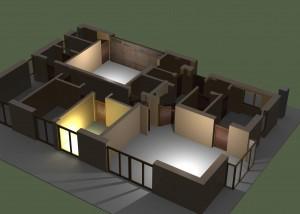 Der Bauprozess für das neue Haus will präzise geplant sein.