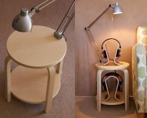Beistelltisch von Ikea.
