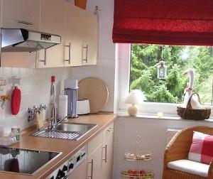 Küche mit frischer Farbe.