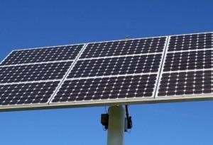 Solarmodule oder Sonnenkollektoren.