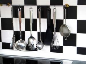 Funktionalität ist bei der Küchenplanung wichtig, damit alles gut erreichbar ist.