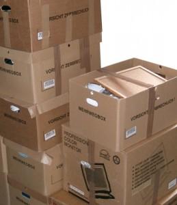 Ist alles gut organisiert geht der Umzug recht problemlos vonstatten.