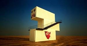Ein bisschen verrückt darf es auch sein - es handelt sich schließlich um das Haus eines Künstlers.